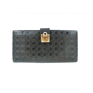 Salvatore Ferragamo leather Wallet Dark Green